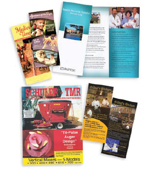 Home promotional flyers rack cards and table tents are a great way to get your business noticed high quality printing reheart Image collections