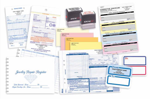Imprinted Business Forms